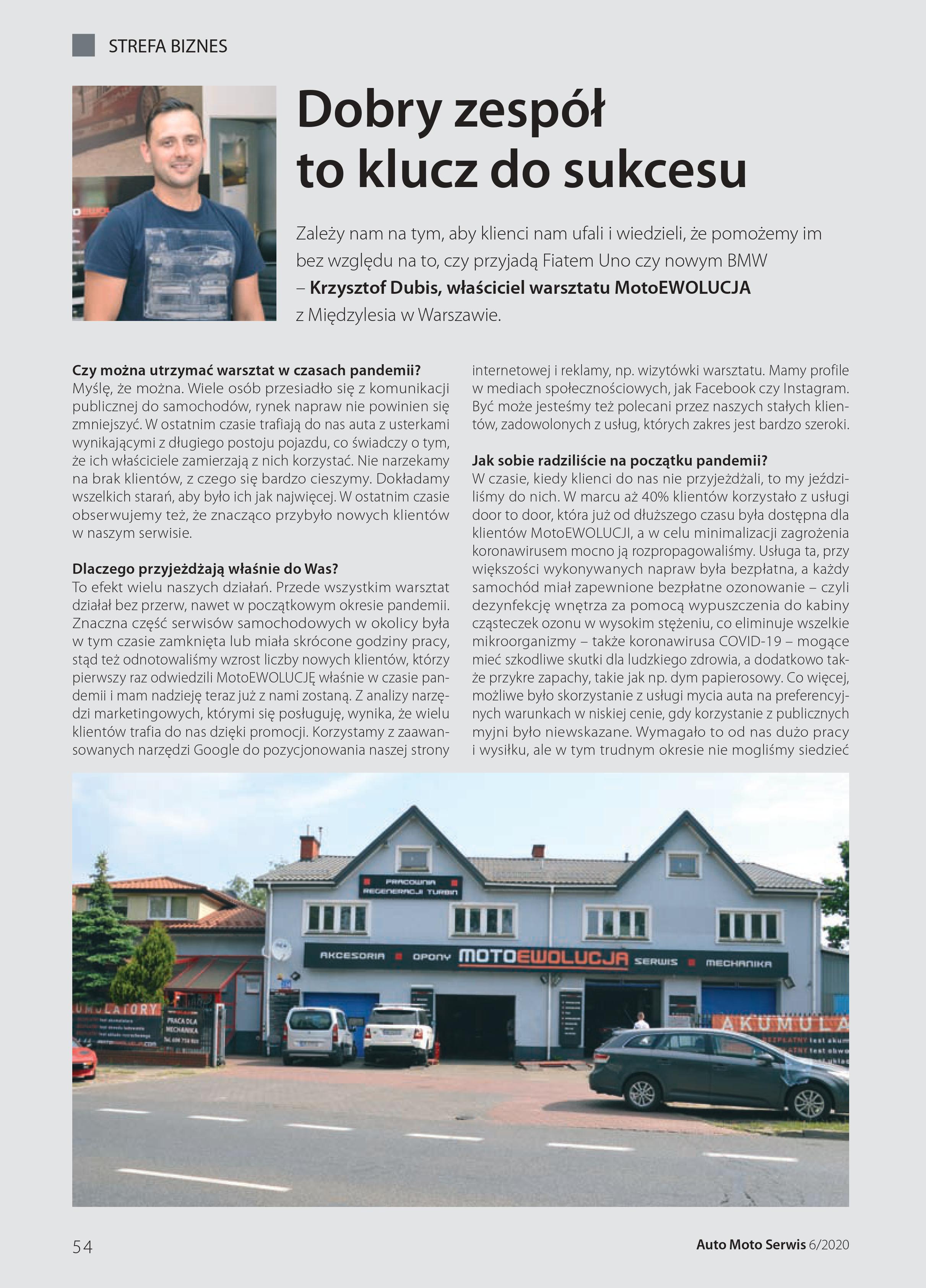 Wywiad Auto Moto Serwis cz.1