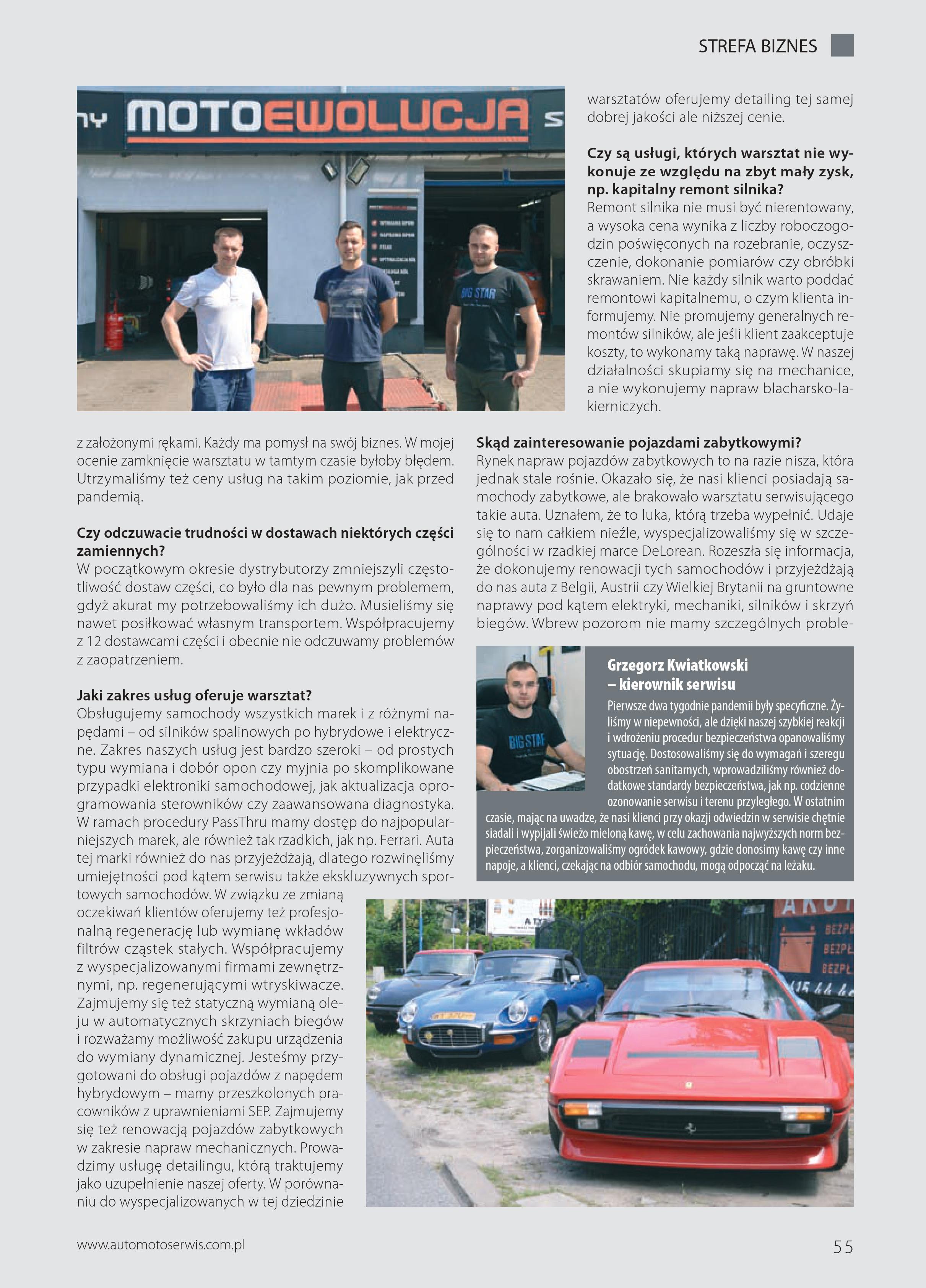 Wywiad Auto Moto Serwis cz.2