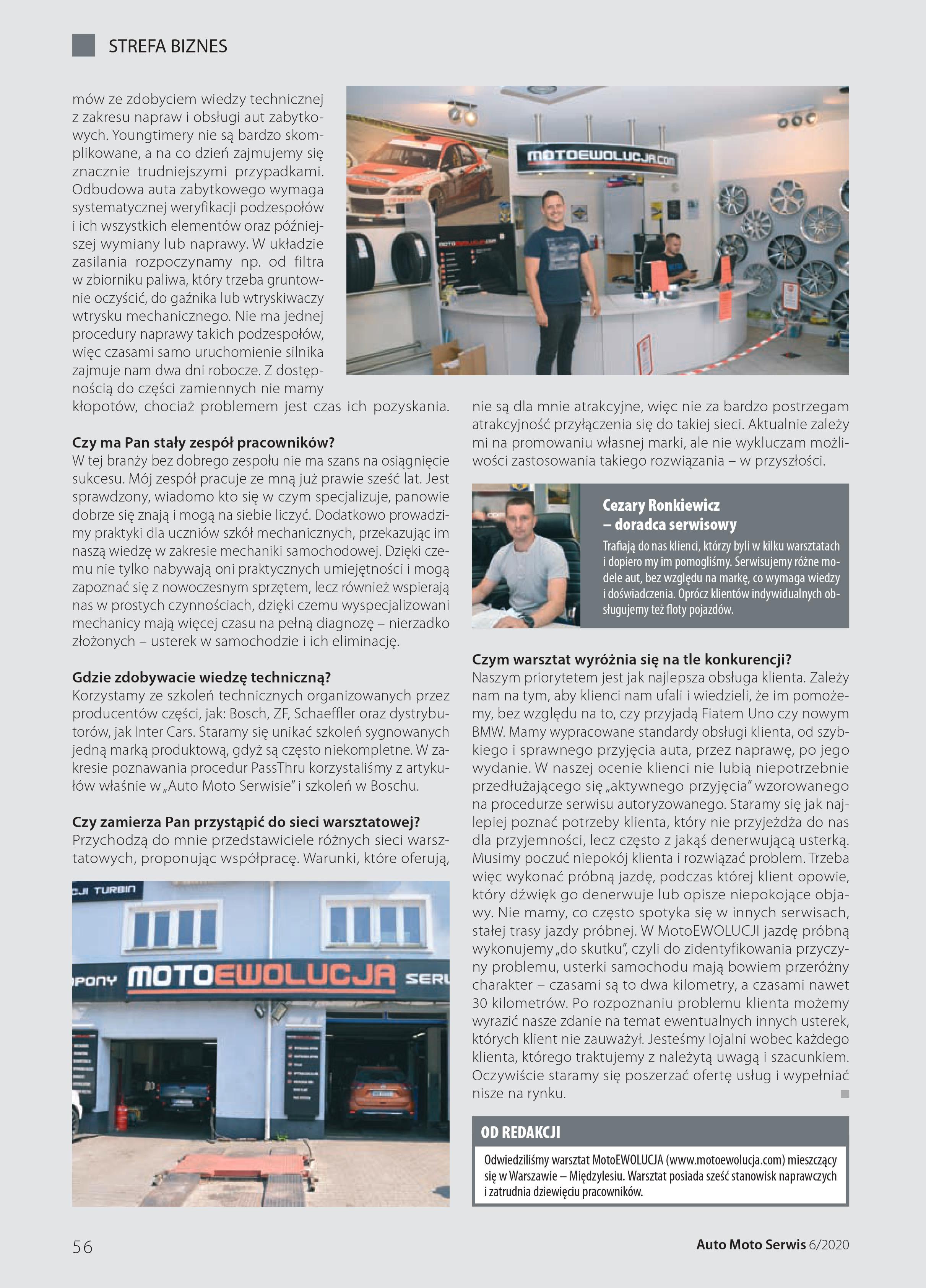 Wywiad Auto Moto Serwis cz.3